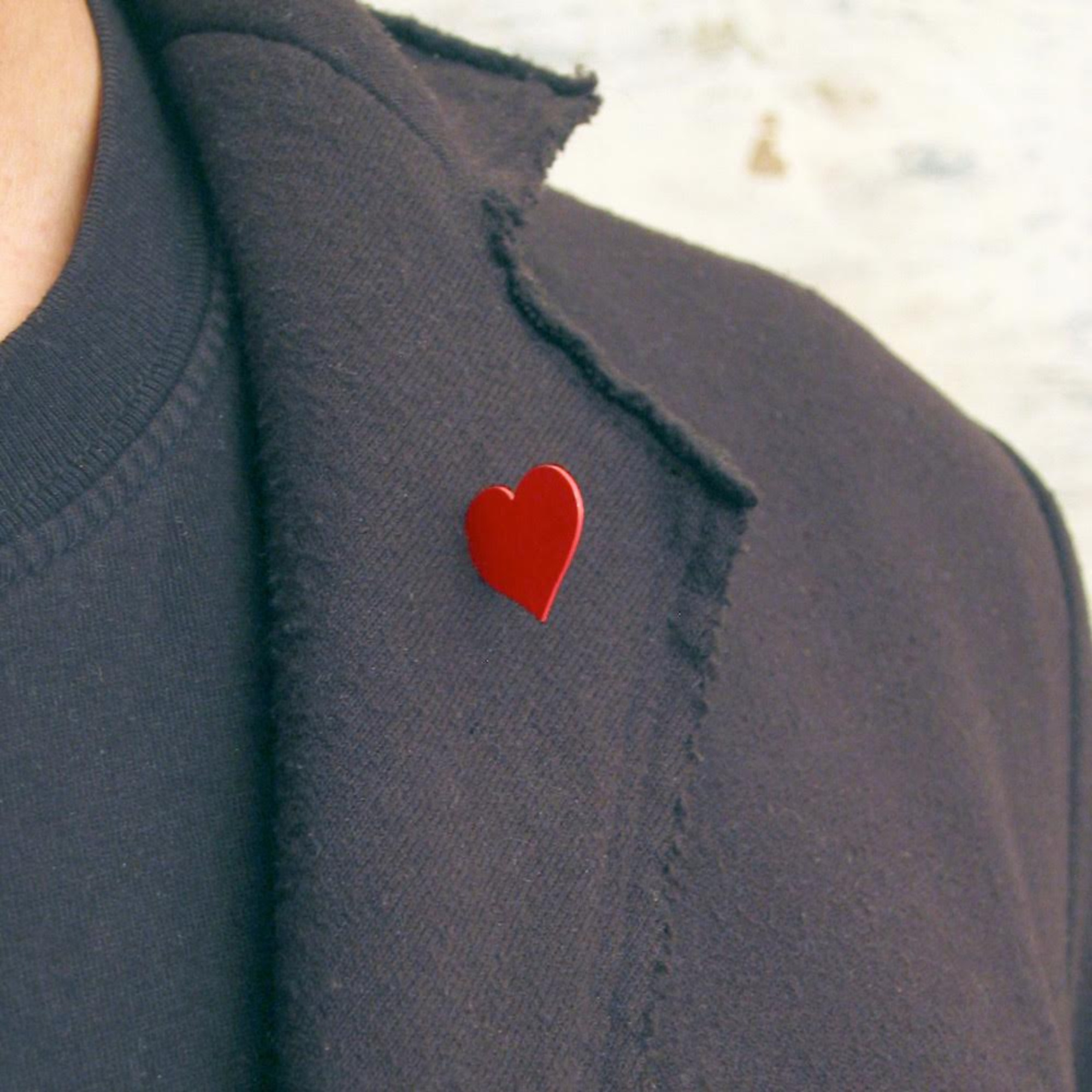 BROOCHES Red Heart